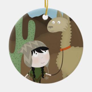 Llama walker ornaments
