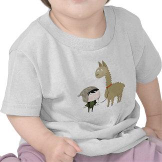 Llama walker tshirt
