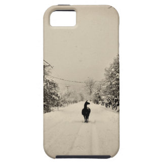 llama winter iPhone 5 case