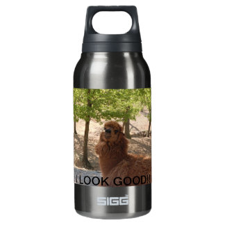LLAMA WITH ATTITUDE INSULATED WATER BOTTLE