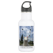 Llama With No Drama LA Water Bottle