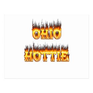 llama y fuego del hottie de Ohio Postal