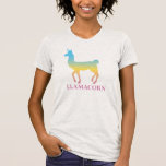 Llamacorn Camisetas