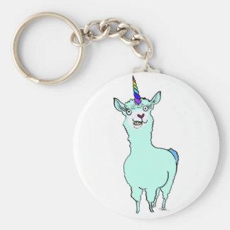Llamacorn Keychain
