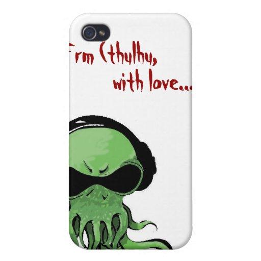 Llamada de Cthulhu iPhone 4 Protectores