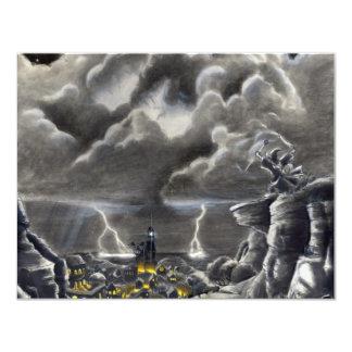 """Llamada de la tormenta invitación 4.25"""" x 5.5"""""""
