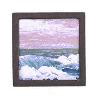 Llamada de las olas oceánicas del mar que navegan  cajas de regalo de calidad