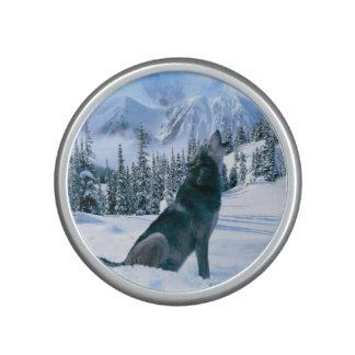 Llamada de lobo altavoz bluetooth