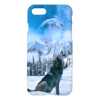 Llamada de lobo funda para iPhone 7