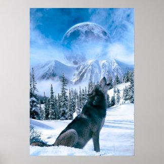 Llamada de lobo póster