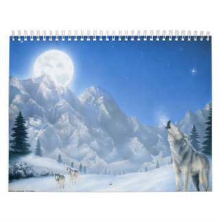 Llamada de los calendarios del lobo