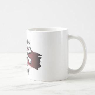 Llamada del botín taza de café