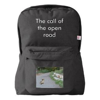 Llamada del camino abierto mochila