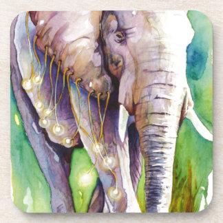 Llamada del elefante salvaje posavaso