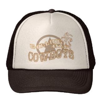 Llamada del gorra de vaqueros