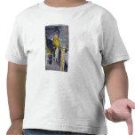 Llamada en el jefe del lago subterráneo camisetas