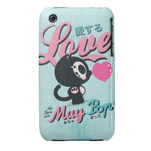 ¡Llamada para el amor! Case-Mate iPhone 3 Fundas