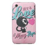 ¡Llamada para el amor! iPhone 3 Funda