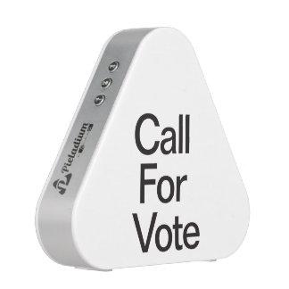 Llamada para Vote.ai Altavoz