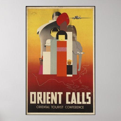 Llamadas de Oriente Poster