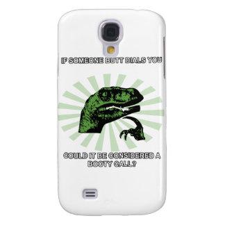 Llamadas del botín de Philosoraptor Funda Samsung S4