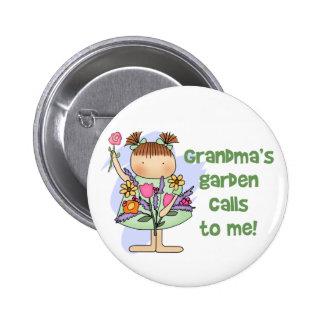 Llamadas del jardín de las abuelas a mí pin