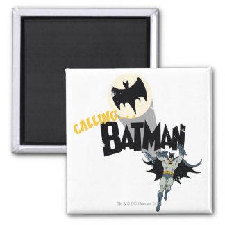 Llamando a Batman gráfico Iman De Nevera