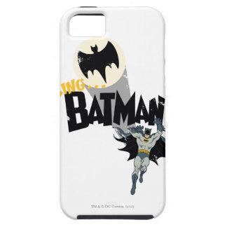 Llamando a Batman gráfico iPhone 5 Fundas