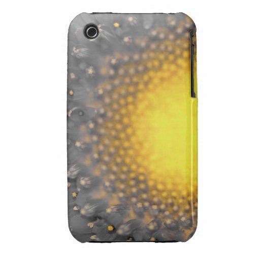 Llamarada de la flor iPhone 3 carcasa