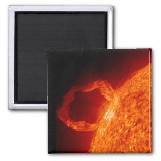 Llamarada solar iman de nevera