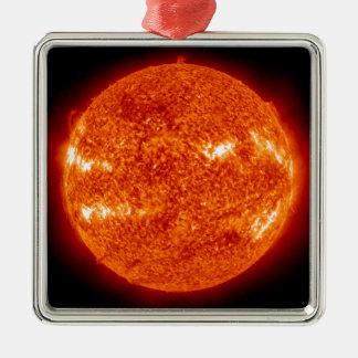 Llamarada solar ornamento para arbol de navidad