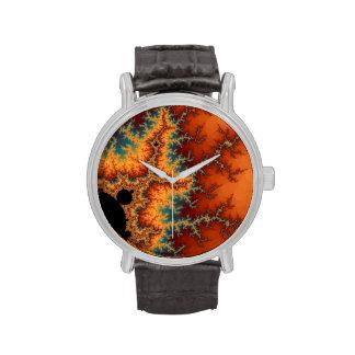 Llamarada solar relojes de mano