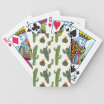 Llamarama Collection | Cute Cactus Bicycle Playing Cards