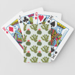 Llamarama Collection | Cute Cactus Pattern Bicycle Playing Cards