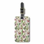 Llamarama Collection Pattern Bag Tag