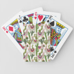 Llamarama Collection Pattern Bicycle Playing Cards