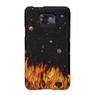 Llamas a Sternenhimmel Samsung Galaxy SII Carcasa