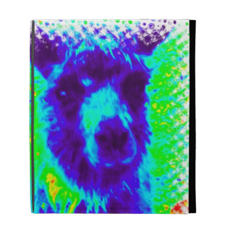 Llama's against global warming iPad folio covers