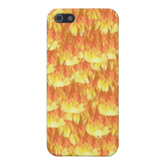 Llamas calientes iPhone 5 protector