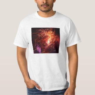 Llamas camiseta para hombre, fotografía remeras