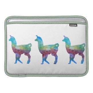 Llamas coloridas funda macbook air