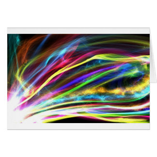 Llamas coloridas tarjeta de felicitación