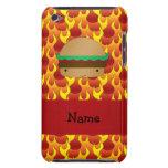 Llamas conocidas personalizadas de la hamburguesa barely there iPod funda