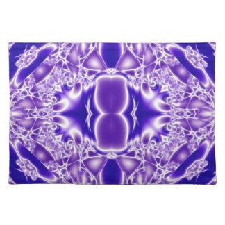 Llamas cristalinas de la pureza mantel individual