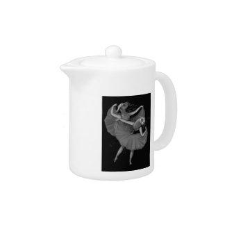 Llamas dancing teapot