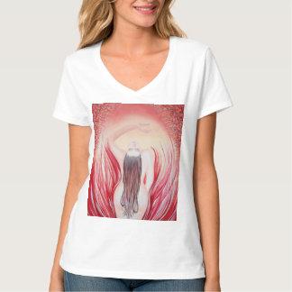 Llamas de la camiseta del deseo