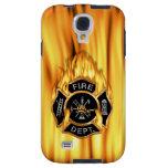Llamas del cuerpo de bomberos