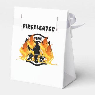 Llamas del departamento del fuego caja para regalos de fiestas