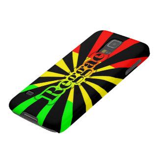 Llamas del rasta de la música del reggae de Cori Funda Para Galaxy S5