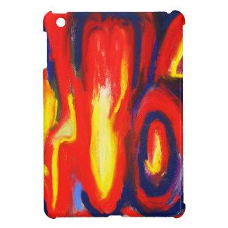 Llamas divididas (expresionismo abstracto) iPad mini coberturas